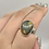 Thumbnail: Sterling Silver Pietersite Ring Size 7.5