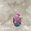 Thumbnail: Sterling Silver Dhalia Mojave Turquoise Ring Size 11