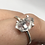 Thumbnail: Sterling Silver Herkimer Diamond Ring Size 7.5