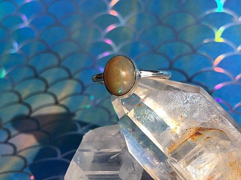 Ethiopian Opal ring size 7.5
