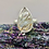 Thumbnail: Sterling Silver Golden Rutile Ring Size 11