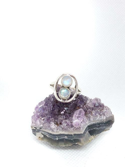 Moonstone ring size 9