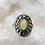 Thumbnail: Sterling Silver Ethiopian Opal Ring Size 7.5