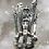 Thumbnail: Sterling Silver Cobra Ring Size 5.5