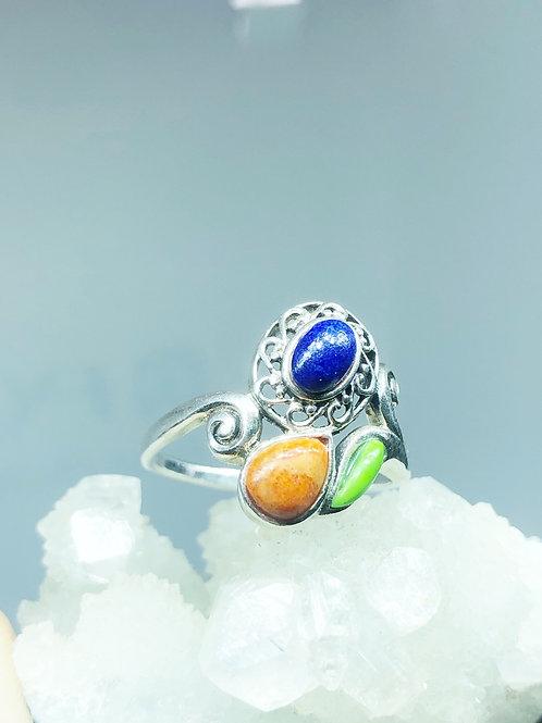 Multistone Ring Size 9