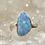 Thumbnail: Sterling Silver Australian Opal Ring Size 9