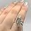 Thumbnail: Genuine Czech Moldavite Ring size 8