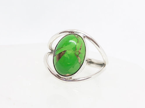 Mojave turquoise ring size 9