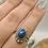 Thumbnail: Sterling Silver Labradorite Ring Size 8.5