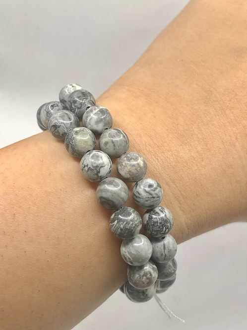 Malinga Jasper Beaded Bracelet