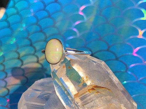 Ethiopian Opal ring size 8