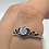 Thumbnail: Sterling Silver Moonstone Ring Size 9