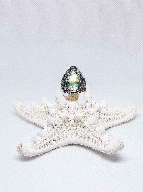 Abalone shell ring size 9