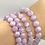 Thumbnail: Kunzite Beaded Bracelet