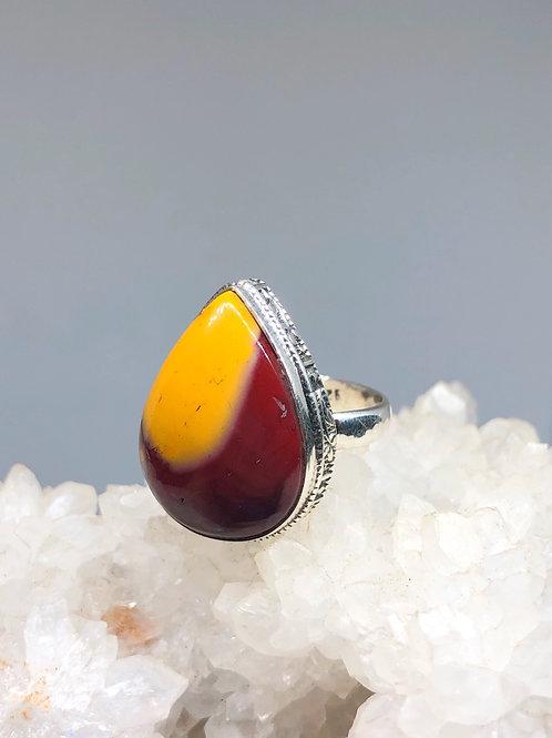 Mookaite Jasper Ring Size 8