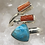 Thumbnail: Sterling Silver Kingman Turquoise Ring Size 7