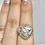 Thumbnail: Sterling Silver Porcelain Jasper Ring Size 7.5