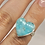 Thumbnail: Sterling Silver Amazonite Ring Size 5