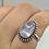 Thumbnail: Sterling Silver Kunzite Ring Size 9