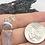 Thumbnail: Sterling Silver Rough Kunzite Pendant