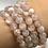 Thumbnail: Flower Agate Beaded Bracelet