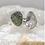 Thumbnail: Sterling Silver Moldavite and Herkimer Diamond Ring