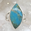 Thumbnail: Sterling Silver Kingman Turquoise Ring Size 6