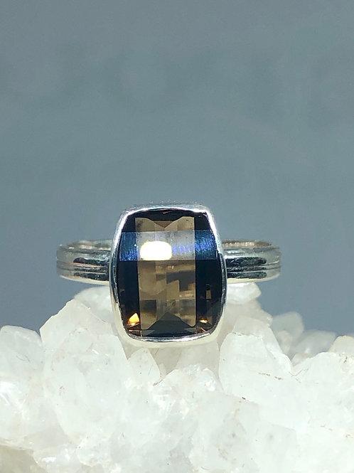 Smokey Quartz Ring Size 7