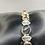 Thumbnail: Sterling Silver Ammolite and Citrine Bracelet