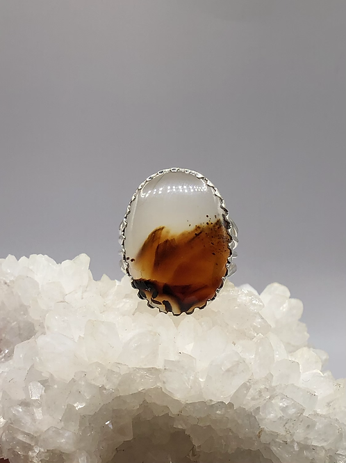 Montana Agate Ring size-9