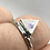 Thumbnail: Sterling Silver Moonstone Ring Size 6.5