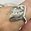 Thumbnail: Sterling Silver Jasper Ring Size 11