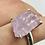 Thumbnail: Sterling Silver Kunzite Ring Size 10