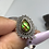 Thumbnail: Sterling silver Ammolite ring size 7