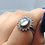 Thumbnail: Sterling Silver Rainbow Moonstone Ring Size 8
