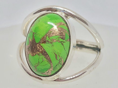 Mojave turquoise ring size 8