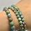 Thumbnail: Faceted Ruby In Fuchsite Beaded Bracelet