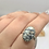Thumbnail: Sterling Silver Buffalo Turquoise Ring Size 7.5