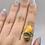 Thumbnail: Bumblebee Jasper Ring Size 10