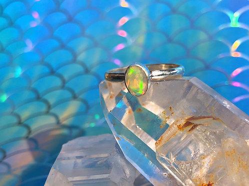 Ethiopian Opal ring size 7
