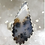 Thumbnail: Sterling Silver Dendritic Agate Ring Adj