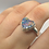 Thumbnail: Sterling Opal Ring Size 11