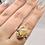 Thumbnail: Sterling Silver Jasper Ring Size 10