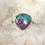 Thumbnail: Sterling Silver Kingman Turquoise Ring Size 10