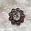 Thumbnail: Sterling Silver Scenic Dendrite Agate Ring Size 8