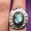 Thumbnail: Sterling Silver Labradorite Ring Size 6.5