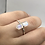 Thumbnail: Sterling Silver Moonstone Ring Size 9.5
