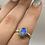Thumbnail: Sterling Silver Labradorite Ring Size 8