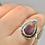 Thumbnail: Sterling Silver Super Seven Ring Size 9