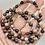 Thumbnail: Tourmaline  beaded bracelet